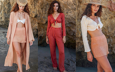 Пляжная женская одежда Savannah Morrow весна-лето 2022