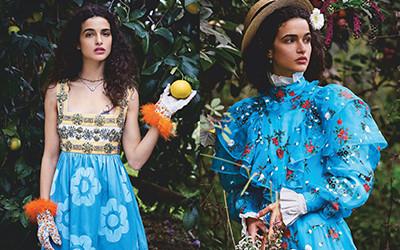 Chiara Scelsi на страницах журнала Vogue Japan
