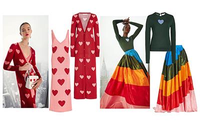 Женская одежда Carolina Herrera осень-зима 2021-2022