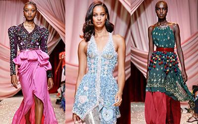 Вечерние платья Ulyana Sergeenko Haute Couture осень-зима 2019-2020
