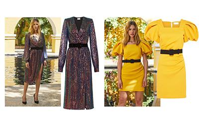 10 самых женственных платьев из коллекции Rebecca Vallance осень-зима 2020-2021
