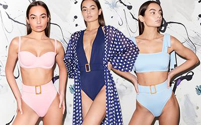 Модные купальники и пляжная одежда Alexandra Miro весна-лето 2020