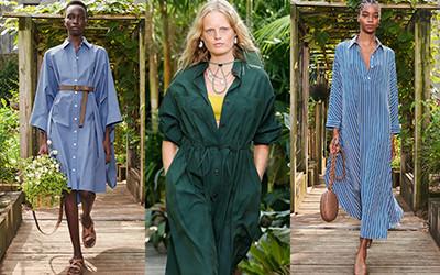 Тренд 2021: модные платья-рубашки из весенне-летних коллекций
