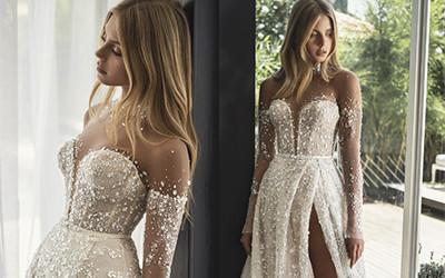15 невероятно красивых свадебных платьев из коллекции Lee Grebenau 2021