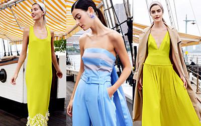 Женская одежда Lela Rose весна-лето 2019