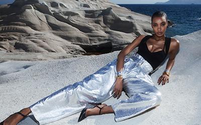 Jourdan Dunn на страницах журнала Vogue Greece