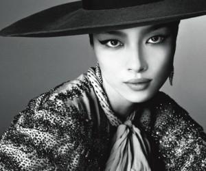 Fei Fei Sun в фотосессии для февральского Vogue Italia