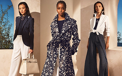 Элегантная женская одежда Ralph Lauren весна-лето 2021