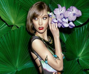 Karlie Kloss на страницах Vogue Brazil