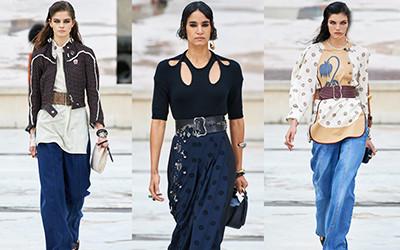 Женская одежда Chloé весна-лето 2021