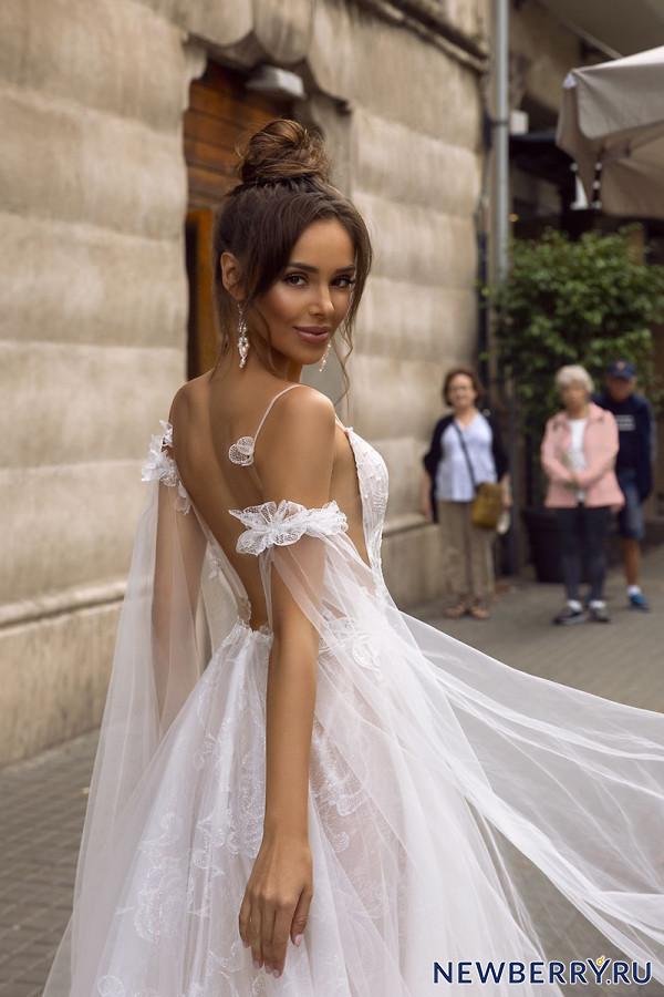 Грациозное очарование! Свадебные платья Tina Valerdi 2019