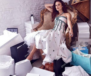 Keira Knightley для журнала Harper's Bazaar UK