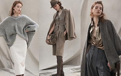 Женская одежда Brunello Cucinelli осень-зима 2020-2021