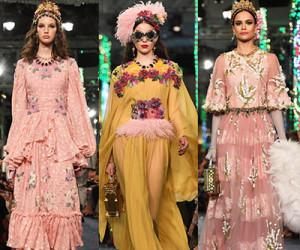Dubai show: Dolce & Gabbana весна-лето 2019