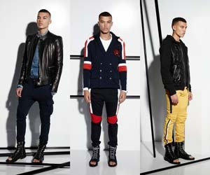 Мужская одежда Balmain весна-лето 2015