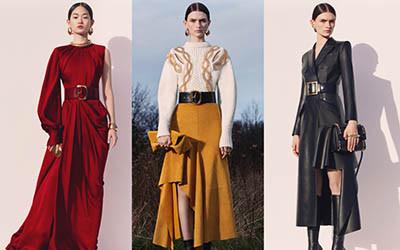 Женская одежда Alexander McQueen Pre-Fall 2020