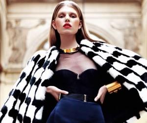 Ola Rudnicka для журнала Elle Serbia