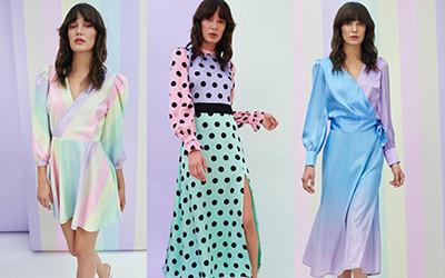 Женственные платья и юбки из коллекции Olivia Rubin весна-лето 2020