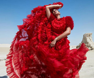 Yasmine Sabri для журнала Harper's Bazaar Arabia