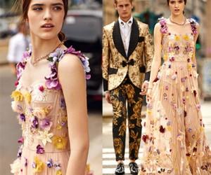 Коллекция вечерних платьев Dolce & Gabbana весна-лето 2018