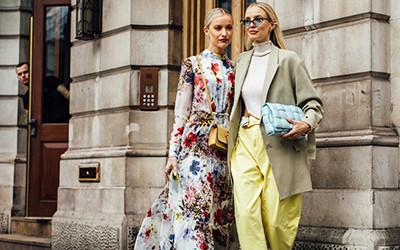 Самые яркие street style образы на неделе моды в Лондоне