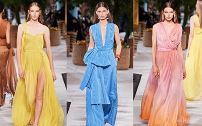 Женская одежда Oscar de la Renta весна-лето 2020