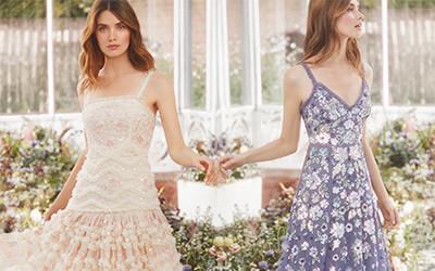 15 платьев в романтическом стиле из коллекции Needle & Thread весна-лето 2020