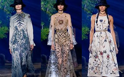 Женская одежда Christian Dior весна-лето 2020