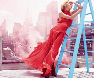 Rosie Huntington Whiteley для журнала Harper's Bazaar UK