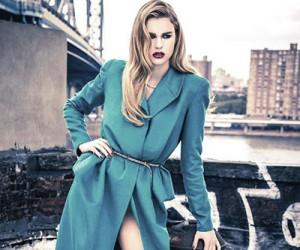Keke Lindgard для журнала Glamour Us