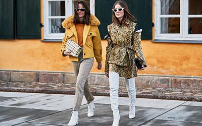 Street style на Неделе моды в Копенгагене осень-зима 2019-2020