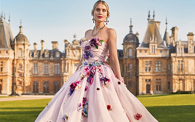 Lady Kitty Spencer на страницах Town & Country UK