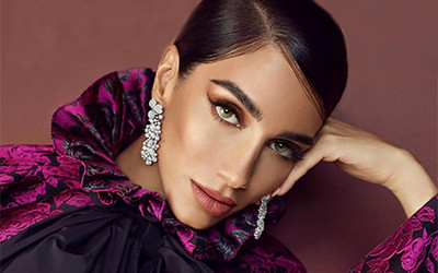 Jessica Kahawaty на страницах Harper's Bazaar Qatar