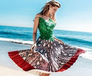 Behati Prinsloo на страницах Vogue Thailand