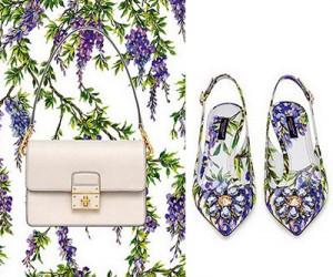Сумки и обувь Dolce & Gabbana весна-лето 2015