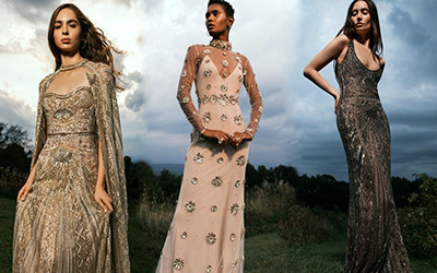 Роскошные вечерние платья Cucculelli Shaheen весна-лето 2022