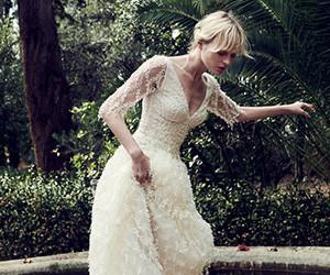 Свадебные платья Christos Costarellos осень-зима 2019-2020