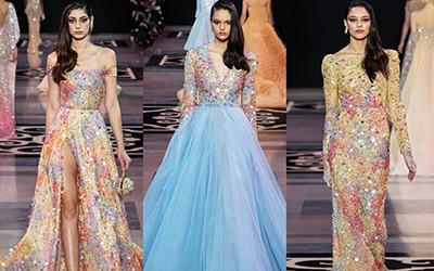 Вечерние платья Georges Hobeika Haute Couture весна-лето 2019