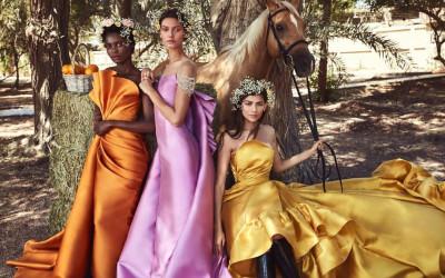 Вечерние платья Hamda Al Fahim Haute Couture весна-лето 2019