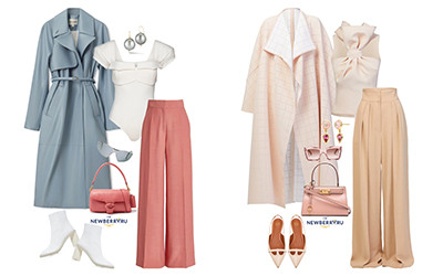 Модные сеты женской одежды осень 2021