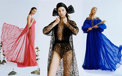 Сказочные платья для царевны Yanina Couture весна-лето 2021