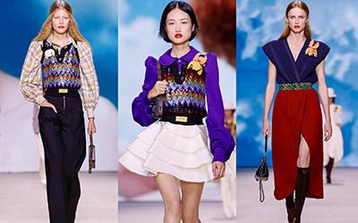 Женская одежда Louis Vuitton весна-лето 2020