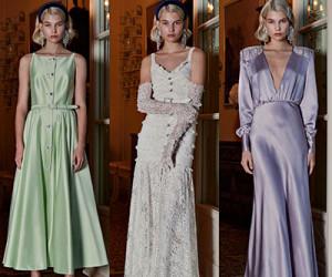Женская одежда Alessandra Rich весна-лето 2019