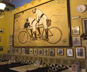 """Ресторан-бар """"Els Quatre Gats"""" в Барселоне"""
