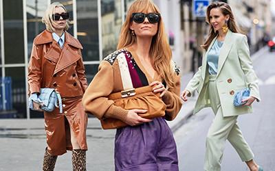 Street style на неделе моды в Париже осень-зима 2020-2021