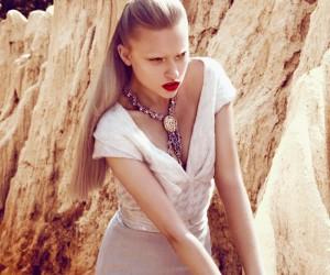 Marcelina Sowa для журнала Harper's Bazaar