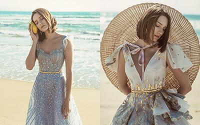 Вечерние платья Sara Mrad Haute Couture весна-лето 2019