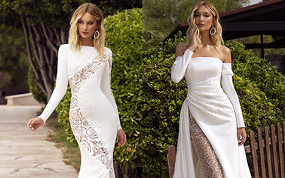 Невероятно шикарные свадебные платья Tina Valerdi 2020