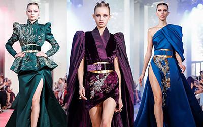 Вечерние платья и костюмы Elie Saab Haute Couture осень-зима 2019-2020