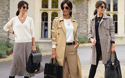 Мода для женщин за 40: осенние образы модницы Patricia Pastor